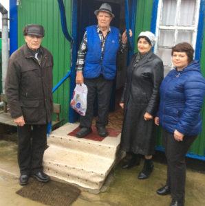 В Челбасской людям с ограниченными возможностями здоровья вручили подарки