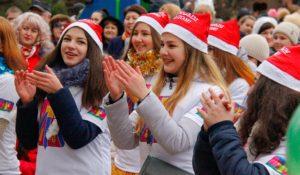 В Каневской прошёл парад Дедов Морозов