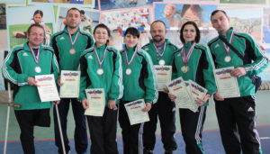Каневской район занял 3-е место в краевой спартакиаде инвалидов Кубани