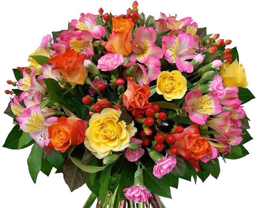 Цветы к дню рождения, конец отпуска
